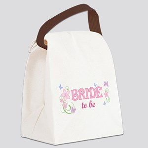 Bride To Be [f/b] Canvas Lunch Bag